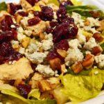 pibbs salad garden bluecheese fresh healthy happy valley anderson